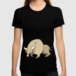 Come tori a Pamplona! T-shirt