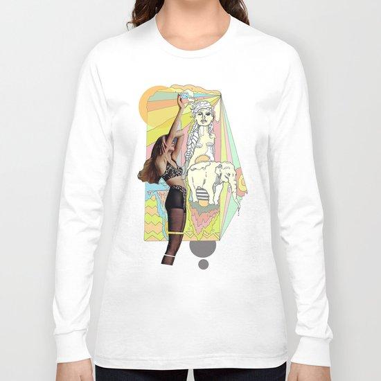 native elephant Long Sleeve T-shirt