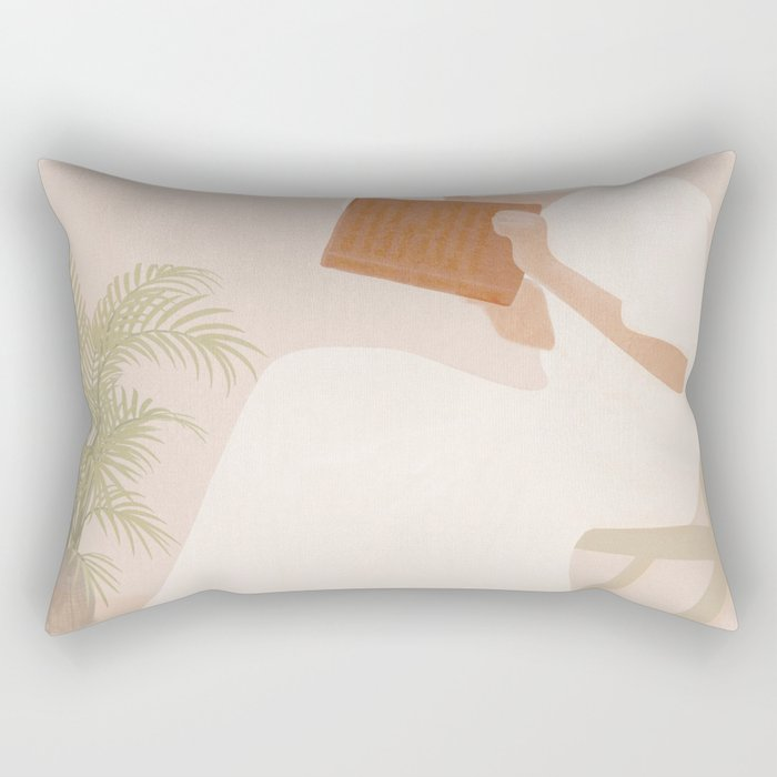 Lost Inside Rectangular Pillow