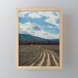 The fields of Tennessee Framed Mini Art Print