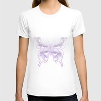 battlestar galactica T-shirts featuring Galactica Purple Butterfly by Tiffany 10