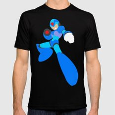 Buster B.A. (Megaman) Mens Fitted Tee Black MEDIUM