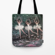 Ballerinas in the Park Tote Bag