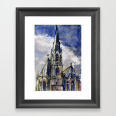 Church of Aachen Framed Art Print
