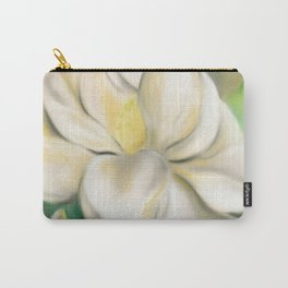 Southern Magnolia Blossom and Bud Carry-All Pouch