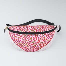 Round Heart Fanny Pack