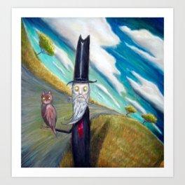 Meowhoo Art Print