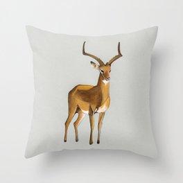 Money antelope Throw Pillow