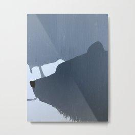 Hibernate  Metal Print