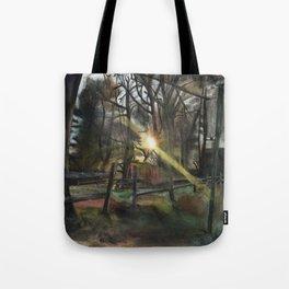 Autumnal Sunset Tote Bag