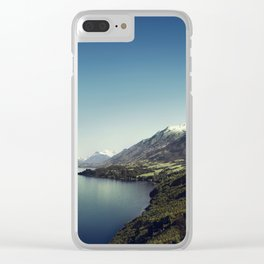 On my way to Glenorchy (Things happened to me) Clear iPhone Case