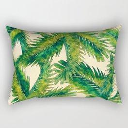 Palms #palm #palms #flower Rectangular Pillow