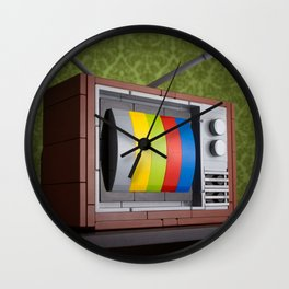 57 Channels and Nothing On Wall Clock