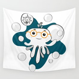 Octobaby - Smarty Wall Tapestry