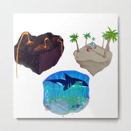 Islands of Paradise Metal Print