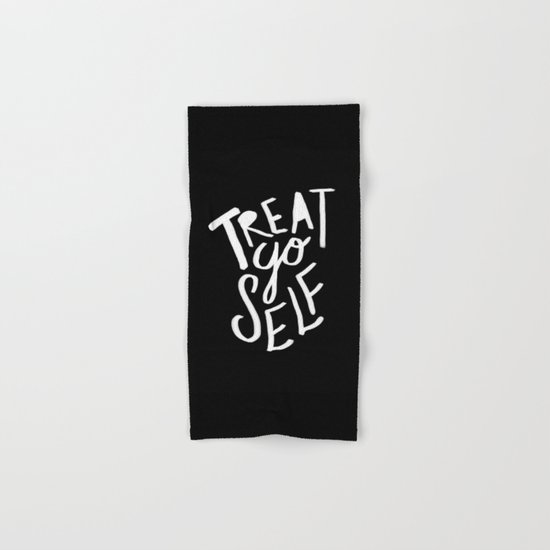 Treat Yo Self II Hand & Bath Towel
