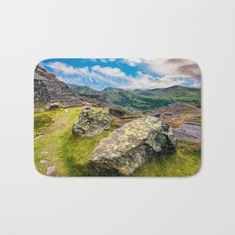 Quarry Steps Snowdonia Bath Mat