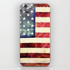 Vintage American Flag iPhone & iPod Skin
