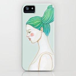CACTUS GIRL iPhone Case