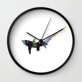 Pelagic thresher Wall Clock