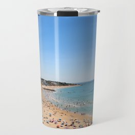 One day at the beach Travel Mug