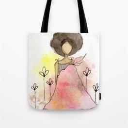 Splotch Girl - Freedom Cut Me Loose Tote Bag