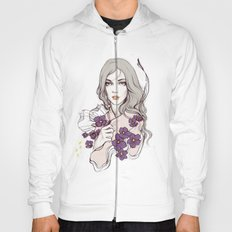 Birth Flower II - Violet Hoody