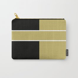 Team Color 6...black,gold Carry-All Pouch
