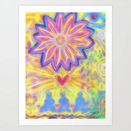 Eye Come In Peace Art Print
