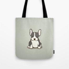 French Bulldog Dog Illustration Tote Bag