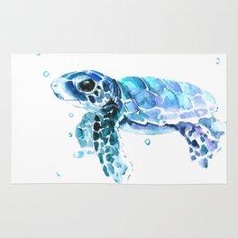 Sea Turtle Tortoise Rug