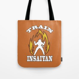Train insaiyan Tote Bag