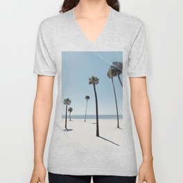 Palm trees 7 Unisex V-Neck