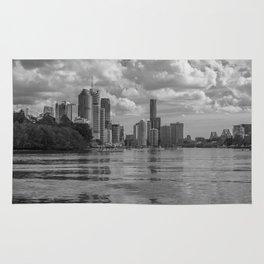 Black and White Brisbane Rug