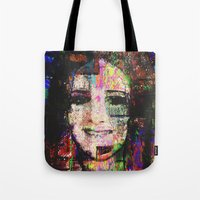 hayley williams Tote Bags featuring Hayley by brett66