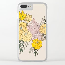 The Sky Is Falling Clear iPhone Case
