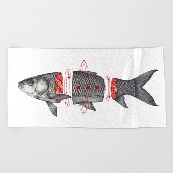 Sashimi I Beach Towel