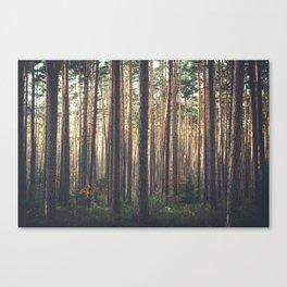 I LIVE HERE Canvas Print