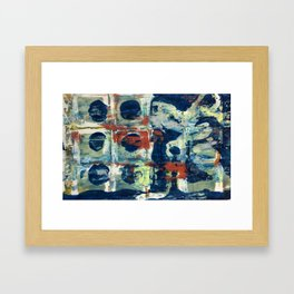 Hold the Phone Framed Art Print
