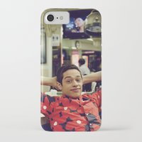 snl iPhone & iPod Cases featuring Chill by F*** Me Pete Davidson