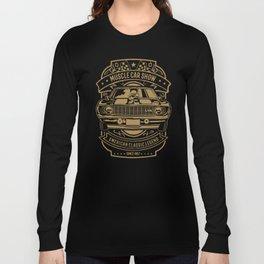 muscle car show american classic legend Long Sleeve T-shirt