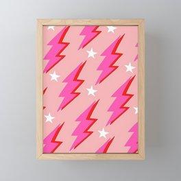 Barbie Lightning Framed Mini Art Print