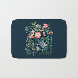 Birds Garden Bath Mat