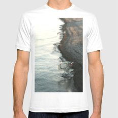 Modern Consumption SMALL White Mens Fitted Tee