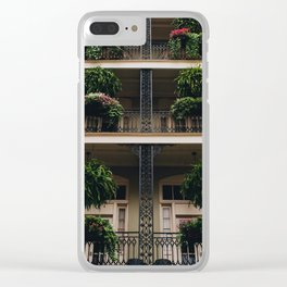 Iron & Ferns Clear iPhone Case