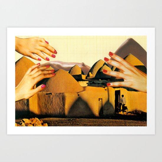 Adobe Erotica Art Print