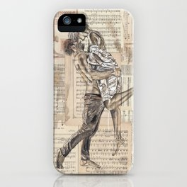Good Morning Dearie iPhone Case