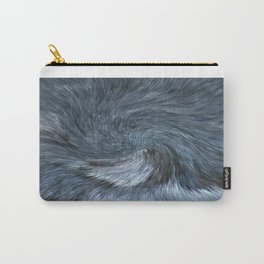 Blue Modern  Carry-All Pouch