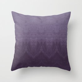 Purple Ombre Throw Pillow
