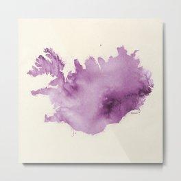Iceland v3 Metal Print